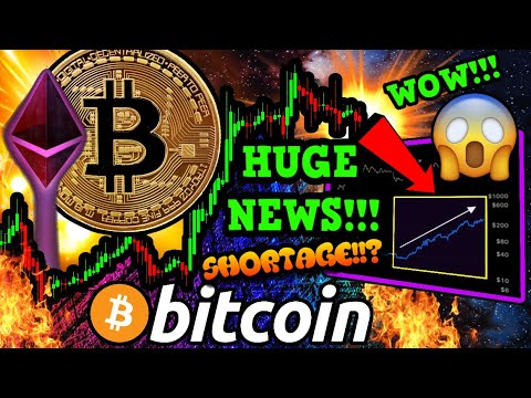 BITCOIN & ETHEREUM SET TO EXPLODE!!! HUGE USA NEWS!! WARNING: BTC SHORTAGE POSSIBLE!!!