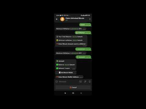 Claim Unlimited Bitcoin Scam ?