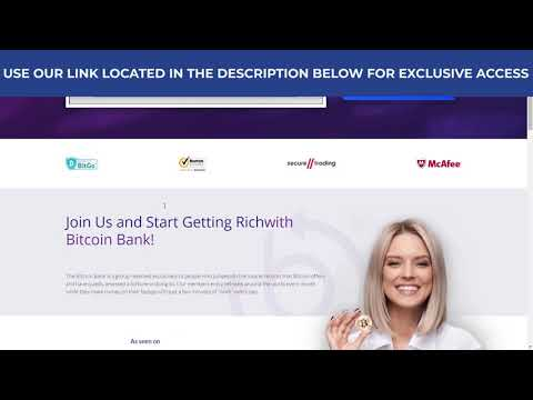 Bitcoin Bank Review | Bitcoin Bank SCAM or LEGIT? | Watch now for the truth!