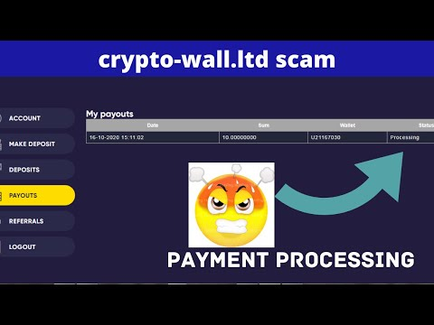 crypto-wall.ltd scam don't invest | scam doubler site don't invest| $10 payment Processing