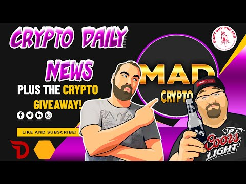 Crypto Daily News, Bitcoin Technical Analysis, Plus Crypto Giveaway Update!