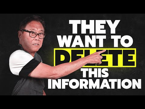Robert Kiyosaki: THEY CAN'T HIDE IT ANYMORE - Do Gold And Bitcoin Destroy The Silver