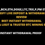 MINEIFY CRYPTO MINING REVIEW | LIVE DEPOSIT & WITHDRAW INSTANT | FREE CLOUD CRYPTOCURRENCY MINING