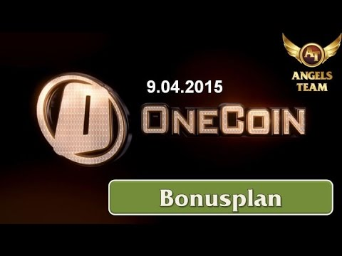 OneCoin – Bonusplan April 9th 2015