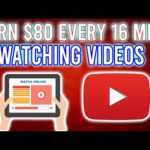 Earn $80 Every 16 Minutes WATCHING VIDEOS! (Make Money Online 2020)