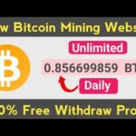 New Bitcoin Mining Website 2020 | New Cloud Mining Website 2020 | Earn Bitcoin Without Investment