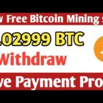 New Free Bitcoin Cloud Mining Site ! USD Mining Site 2020 ! ( Live Peyments Proof ) + Giveaway