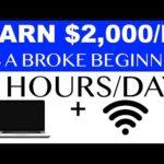 Earn Money Online As A Broke Beginner ($2,000/M) | Todd Dowell