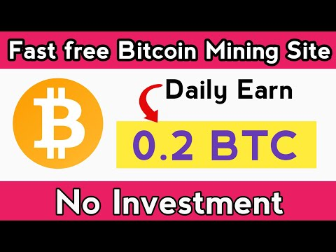 New Free Bitcoin Mining Site 2020   New Bitcoin Mining Site   Earn Bitcoin Free Without Investment
