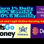 Earn Money Online with 3 Best Online Real Game 2020   Old Legit Earning Website with Trusted Admin