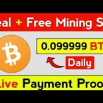 how to make money online/New Best Free Bitcoin Mining Site 2020 #ittadi100