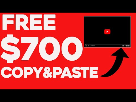 Earn $700 By Sharing Someone Else's Youtube Videos FREE Make Money Online