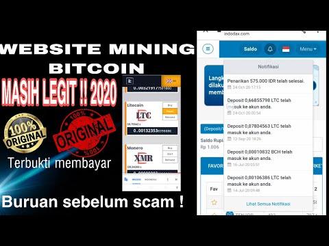 WEBSITE MINING BITCOIN 2020 !! MASIH MEMBAYAR !! BURUAN SEBELUM SCAM