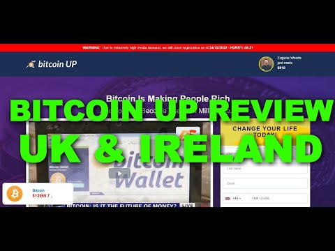 Bitcoin Up Review UK and Ireland, Is Bitcoin Up Scam or Reliable Trading App?