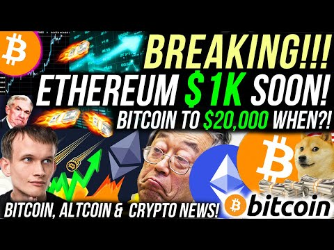 WARNING!! HUGE BITCOIN VOLATILITY COMING!! ETHEREUM $1000 IN NOVEMBER WITH ETH 2.0?! Crypto News