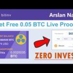 Bitinv - Smart Bitcoin Miner | Mine Free Bitcoin Get ( 0.05 BTC ) Live Withdraw Proof + Zero Invest