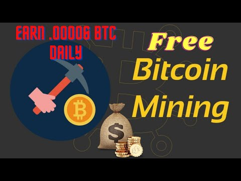 Free Bitcoin Mining 2020 ☢ New Bitcoin Mining Site☢Unbelievable Opportunity To Earn .00006 BTC Daily