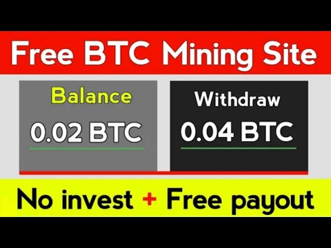 New Best Free Bitcoin Mining Site 2020 #ittadi100