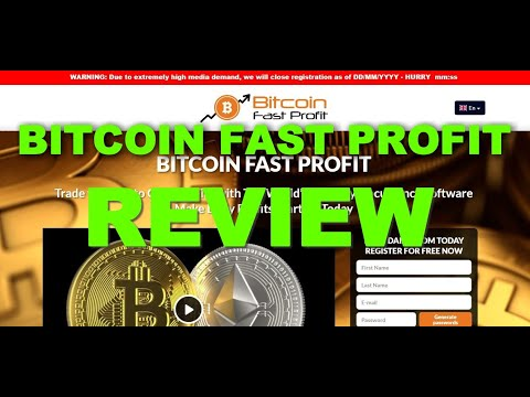 Bitcoin Fast Profit Review, Scam Or Legit Trading App? Find Out!