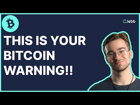 HUGE WARNING ON BITCOIN!!! - DO NOT TRADE UNTIL YOU SEE THIS!!