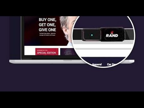 RAND PAUL SPY CAM BLOCKER – Rand Paul Sells NSA Spy Cam Blocker in Campaign Store