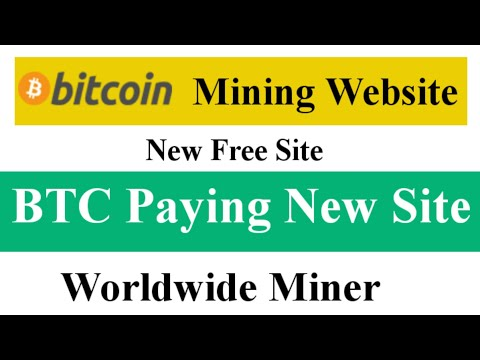 Bitcoin Mining New Website Without Invest Worldwide || BTC Mining Site || Earn Free Bitcoin