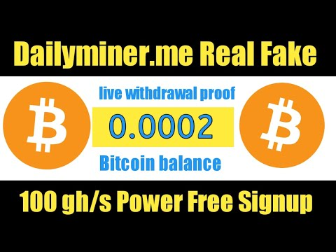 Dailyminer.me Payment Proof | Bitcoin Mining Website 2020 | New Cloud Mining Website | Ahmad Online