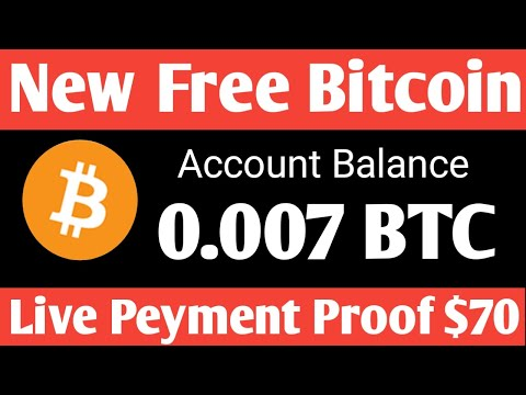New Bitcoin Mining Site 2020 ! + ( Live Peyments Proof $70 ! Earn Free Bitcoin ! + Giveaway