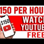 Earn $150 Per Hour WATCHING YOUTUBE VIDEOS [Make Money Online Today!]