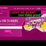 Crypto-timer.ltd Light Or Scam?   Live Payment proof  Must watch Full video  New Crypto doubler Site