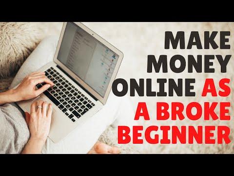 11 Ways to Make Money Online as a Broke Beginner