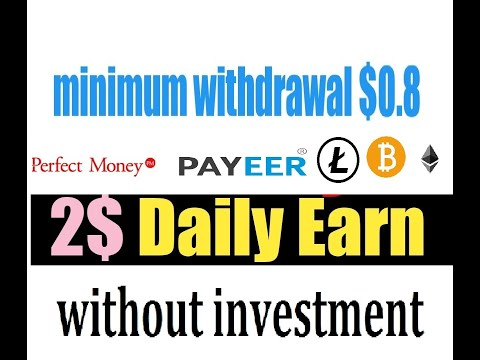 2$ USD Daily Earn without investment  New Bitcoin Mining Site  2020