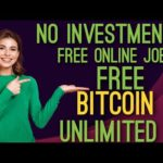 No investment free online job/free Bitcoin earn tamil