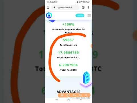 crypto riches ltd Scam or paying   Dubai admin Doubler Website   Best Crypto Doubler website