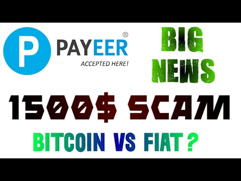 Payeer Wallet scam? 1500$ loss | Big News Crypto