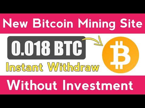 Free Bitcoin Mining website   Bitcoin, Bitcoin News, Bitcoin Update, Earn Bitcoin Without Investment