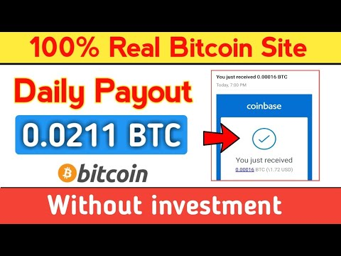 New Free Bitcoin Mining Site 2020 | Earn Daily 0.0277 BTC | Best Free Bitcoin Earning Site 2020