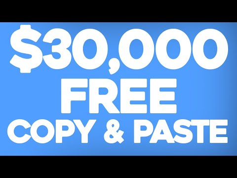 Earn $30,000+ a Month To Copy & Paste (Make Money Online)