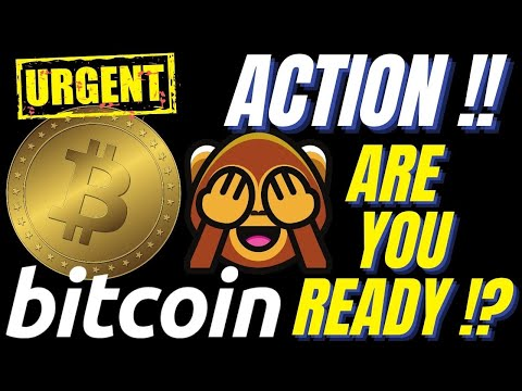 URGENT BITCOIN ACTION!! Do you have a plan? Crypto BTC TA price prediction, analysis, news, trading