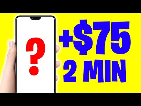 Earn $75 Every 2 Minutes DRAWING LINES [Make Money Online]