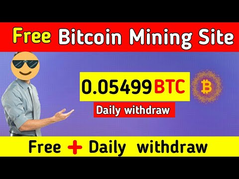Earn 25$ BTC   New Bitcoin Mining Site 2020   Btc earning website   Earn BTC without investment