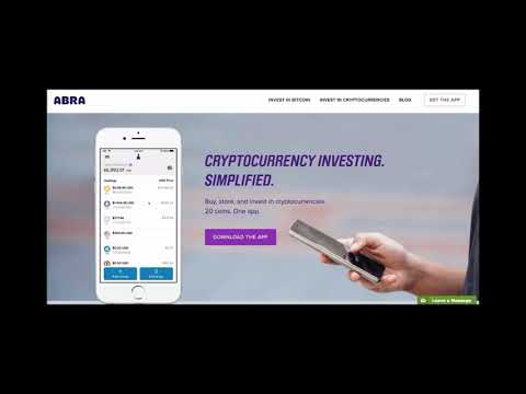 Don't use ABRA (Scam?) crypto app until you watch this video!! Crypto Currency