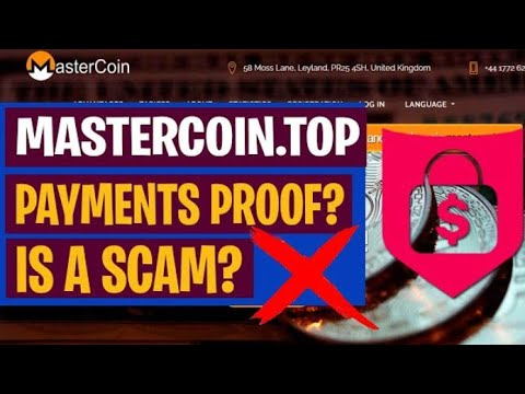 mastercoin.top Legit Or Scam | New Free Bitcoin Mining Site 2020 | Legit Bitcoin Mining Site 2020