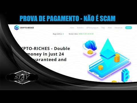 CRYPTO RICHES - PROVA DE PAGAMENTO NÃO É (SCAM)... CRYPTO RICHES - PROOF OF PAYMENT IS NOT (SCAM)