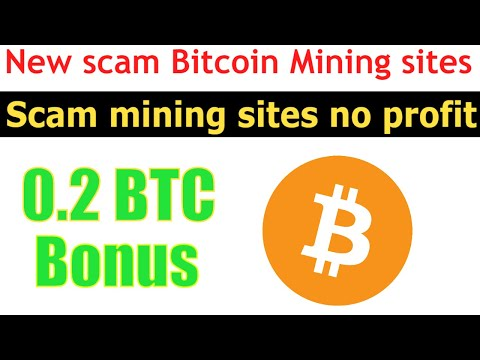 New Scam bitcoin mining sites 2020 | Live Payment proof bitcoin mining