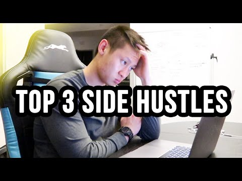 How To Make Money Online In 2020 | The 3 BEST Side Hustles