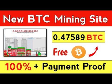 New Free Bitcoin Mining Site 2020 | Earn Daily 0.47589 BTC | Best Free btc Earning website 2020