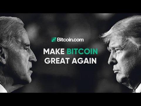 Make Bitcoin Great Again: Trump vs Biden vs Crypto: The Bitcoin.com Weekly Update