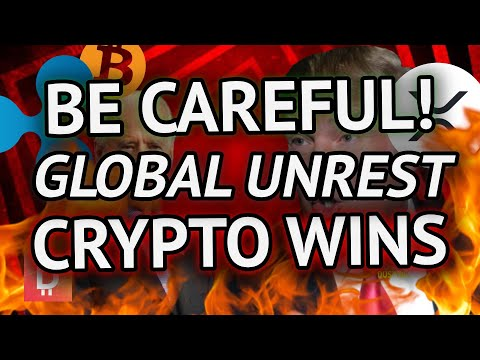 Breaking Crypto News: BE CAREFUL! GLOBAL UNCERTAINTY SKYROCKETING & XRP COULD BEAT BITCOIN IN 2021!