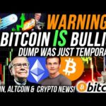 URGENT!!🚨 BITCOIN DUMP IS TEMPORARY!! ETHEREUM PRICE MEGA BULLISH!! Crypto News